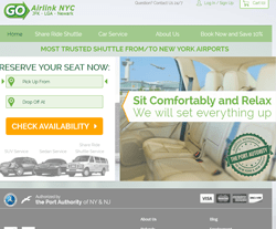 15% Off GO Airlink NYC Coupon - February 2019