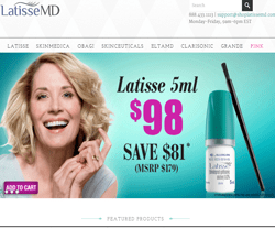 LatisseMD Coupons, Deals and Promo Codes is a great store to go to get quality supplies for you from Site. Want to save money on LatisseMD Coupons, Deals and Promo Codes itmes? Here are many LatisseMD Coupons, Deals and Promo Codes coupons and promo codes for and get one LatisseMD Coupons, Deals and Promo Codes coupons.