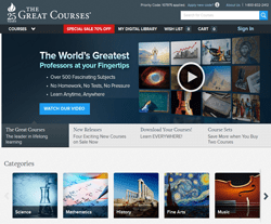 The Great Courses Coupons