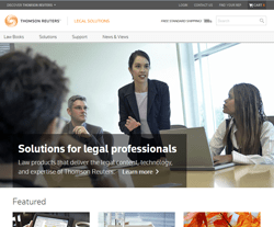 Legal Solutions from Thomson Reuters Coupon Codes