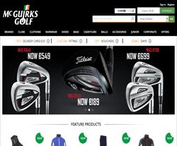 McGuirks Golf Promo Codes