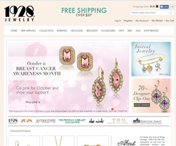 1928 Jewelry Coupon Codes