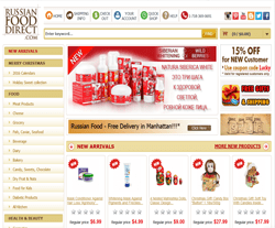 Russian Food Direct Coupons