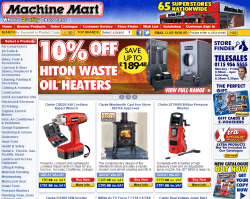 Machine Mart Discount Codes
