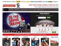 National Tyres and Autocare Vouchers