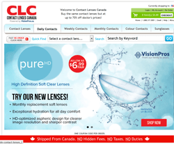 Contact Lenses Canada Coupons