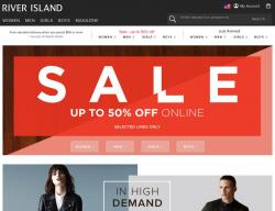 River Island coupon codes