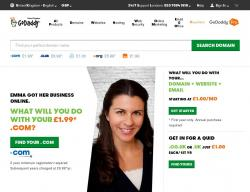 GoDaddy UK Discount Codes