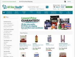 All Star Health Coupons