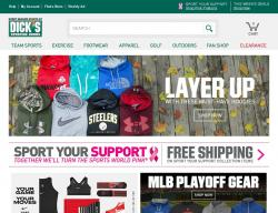 Dick's Sporting Goods promo code