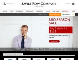 Savile Row Discount Codes promo code
