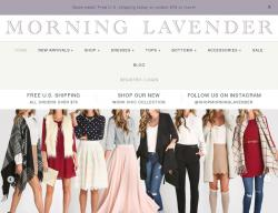 Morning Lavender Coupons