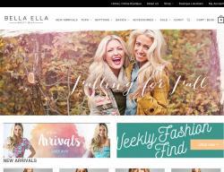 Bella Ella Boutique Coupons promo code