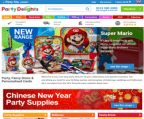 Party Delights promo code