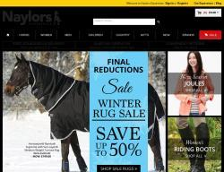 Naylors Equestrian Discount Code