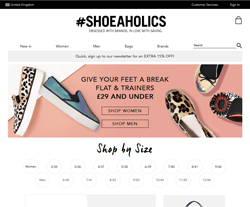 Shoeaholics Discount Codes