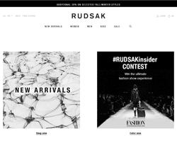 RUDSAK Promo Codes
