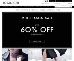 Jo Mercer Promo Codes