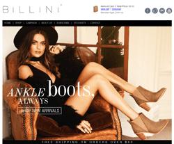 Billini promo code