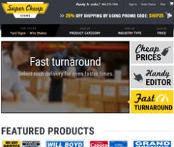 Super Cheap Signs Promo Code