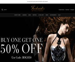 Fredericks Of Hollywood Discount Code