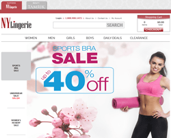 NY Lingerie Coupons