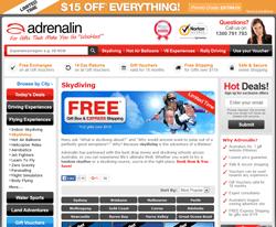 Adrenaline world coupon code