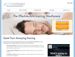 VitalSleep Coupon