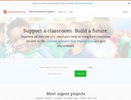 DonorsChoose.org Promo Codes