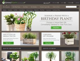 Giving Plants Coupons