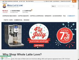 Whole latte love coupon code