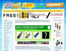 MyKidsGolfClubs.com Coupon Codes