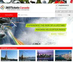 365 Tickets Canada Promo Codes