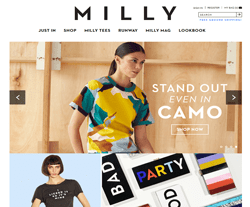 Milly promo code