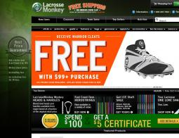 lacrosse monkey discount coupons