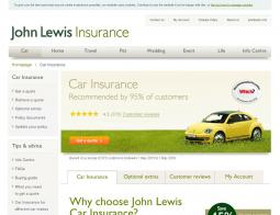 John Lewis Car Insurance Discount Codes
