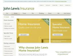John Lewis Home Insurance Discount Codes