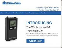 Whole House FM Transmitter Coupon
