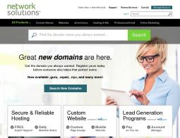 Network Solutions Coupon