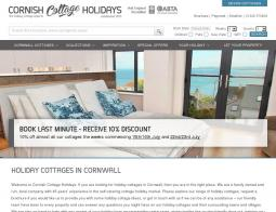 Cornish Cottage Holidays Discount Codes