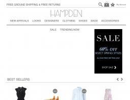 Hampden Clothing Coupon Codes
