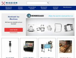 Choose from 7 Mission Restaurant Supply coupons that include promo codes and free shipping deals for November If you want to make the best food, it helps to have the best equipment. Luckily you can find it all from Mission Restaurant Supply.