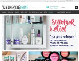 Skin Dimensions Online promo code