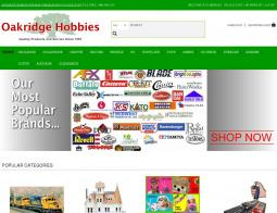 Oakridge Hobbies Coupons