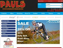 Pauls Cycles Discount Codes