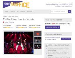 Thriller Live Promo Codes
