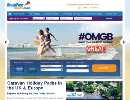 BreakFree Holidays Discount Codes