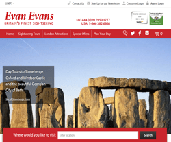 Evan Evans Tours Discount Codes