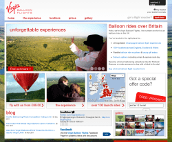 Virgin Balloon Flights Voucher Code