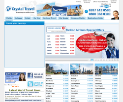Crystal Travel Coupon